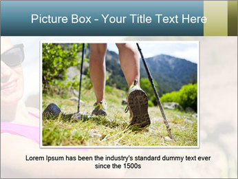 Woman Hiker PowerPoint Template - Slide 16