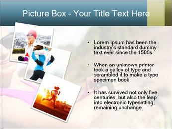 Woman Hiker PowerPoint Template - Slide 17