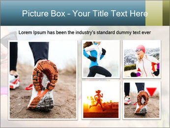 Woman Hiker PowerPoint Template - Slide 19
