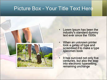 Woman Hiker PowerPoint Template - Slide 20
