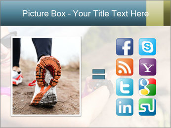 Woman Hiker PowerPoint Template - Slide 21