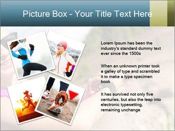 Woman Hiker PowerPoint Template - Slide 23
