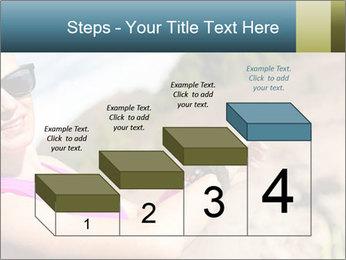 Woman Hiker PowerPoint Template - Slide 64