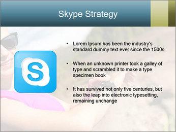 Woman Hiker PowerPoint Template - Slide 8