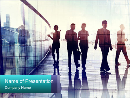 City People PowerPoint Templates