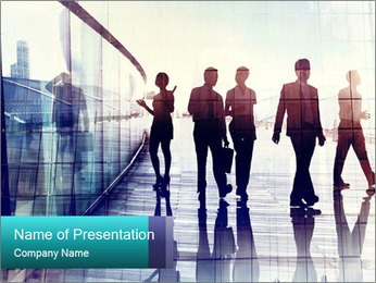 City People PowerPoint Template