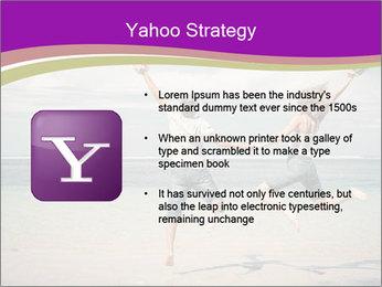 Joyful Couple On Vacation PowerPoint Templates - Slide 11
