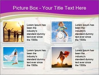 Joyful Couple On Vacation PowerPoint Templates - Slide 14
