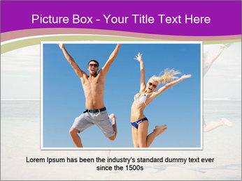Joyful Couple On Vacation PowerPoint Templates - Slide 16