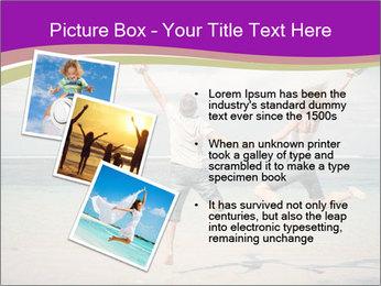 Joyful Couple On Vacation PowerPoint Templates - Slide 17