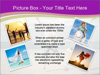Joyful Couple On Vacation PowerPoint Templates - Slide 24