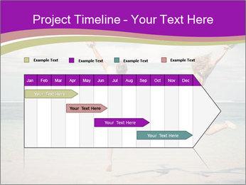 Joyful Couple On Vacation PowerPoint Templates - Slide 25