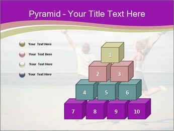 Joyful Couple On Vacation PowerPoint Templates - Slide 31