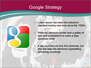 John Lenon And Yoko PowerPoint Template - Slide 10