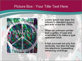 John Lenon And Yoko PowerPoint Template - Slide 13