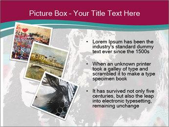 John Lenon And Yoko PowerPoint Template - Slide 17