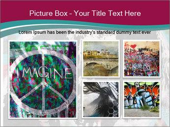 John Lenon And Yoko PowerPoint Template - Slide 19
