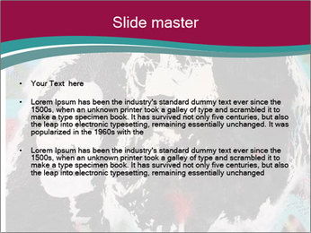 John Lenon And Yoko PowerPoint Template - Slide 2