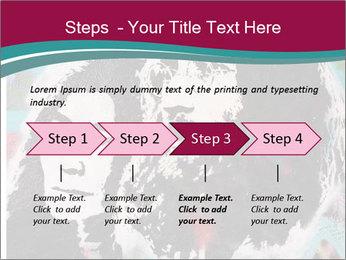 John Lenon And Yoko PowerPoint Template - Slide 4