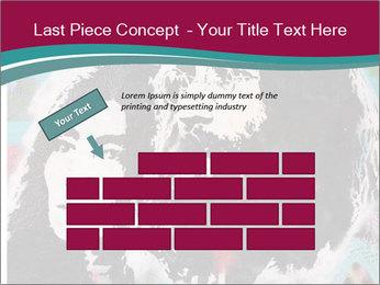 John Lenon And Yoko PowerPoint Template - Slide 46