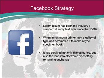 John Lenon And Yoko PowerPoint Template - Slide 6