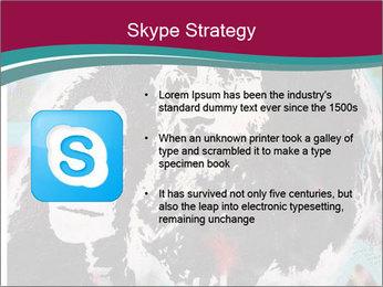 John Lenon And Yoko PowerPoint Template - Slide 8