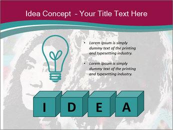 John Lenon And Yoko PowerPoint Template - Slide 80