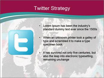 John Lenon And Yoko PowerPoint Template - Slide 9