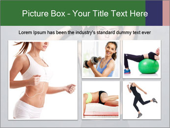 Sporty Female Outfit PowerPoint Templates - Slide 19