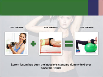 Sporty Female Outfit PowerPoint Templates - Slide 22