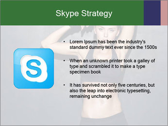 Sporty Female Outfit PowerPoint Templates - Slide 8