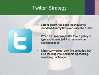 Sporty Female Outfit PowerPoint Template - Slide 9