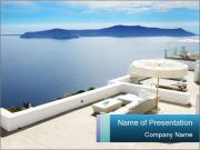 Beautiful Mediterranean PowerPoint Template