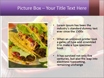 Ethnic Mexican Food PowerPoint Templates - Slide 13