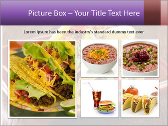 Ethnic Mexican Food PowerPoint Templates - Slide 19