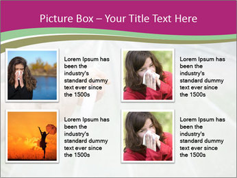 Rain And Umbrella PowerPoint Templates - Slide 14