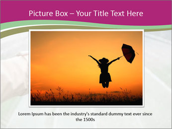 Rain And Umbrella PowerPoint Template - Slide 15