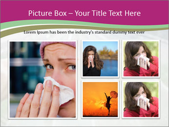 Rain And Umbrella PowerPoint Templates - Slide 19