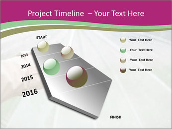 Rain And Umbrella PowerPoint Template - Slide 26