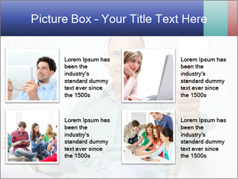 Happy Family Man PowerPoint Template - Slide 14