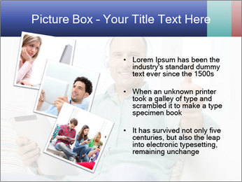 Happy Family Man PowerPoint Templates - Slide 17