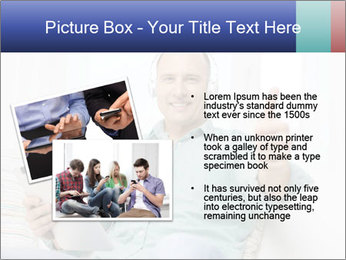 Happy Family Man PowerPoint Template - Slide 20
