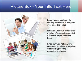 Happy Family Man PowerPoint Template - Slide 23