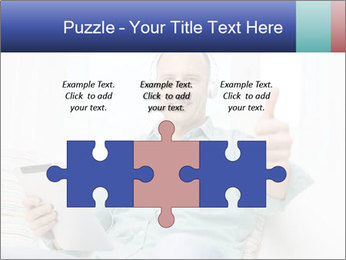 Happy Family Man PowerPoint Templates - Slide 42