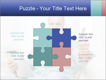 Happy Family Man PowerPoint Templates - Slide 43