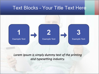 Happy Family Man PowerPoint Templates - Slide 71