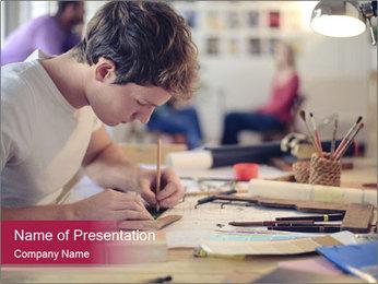 Creative Workshop PowerPoint Template - Slide 1