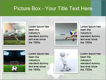 Stadium Lights PowerPoint Template - Slide 14