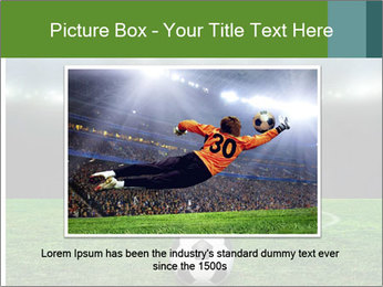 Stadium Lights PowerPoint Template - Slide 16
