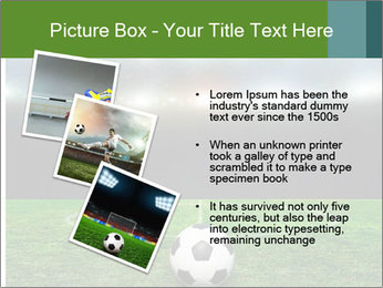 Stadium Lights PowerPoint Template - Slide 17